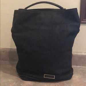 Burberry Large Susanna Nubuck Hobo Bag